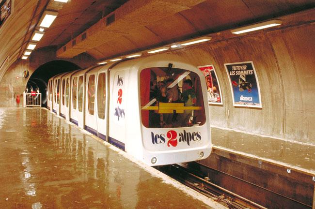 metro les 2 alpes